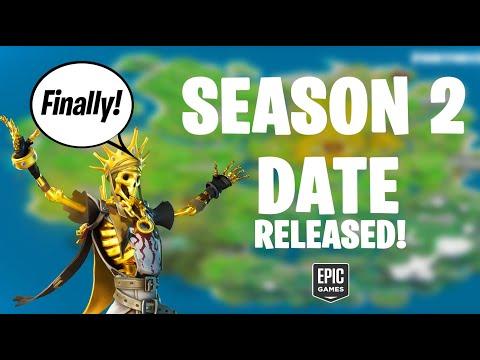 When Does Fortnite Season 2 Chapter 2 Start? (Fortnite NEW Season 2 Date Released)