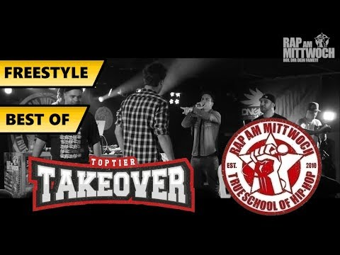 BEST OF FREESTYLE #1// Rap Am Mittwoch, TopTier Takeover // Gier, Karate Andi,...