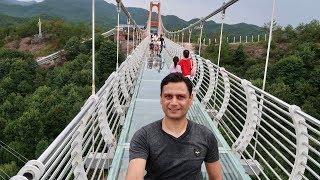Glass bridge Yiwu Jinhua Zhejiang China by Kabir Afridi