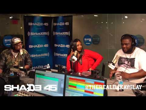 Dj Kayslay Interviews AR AB at Shade45 SiriusXM