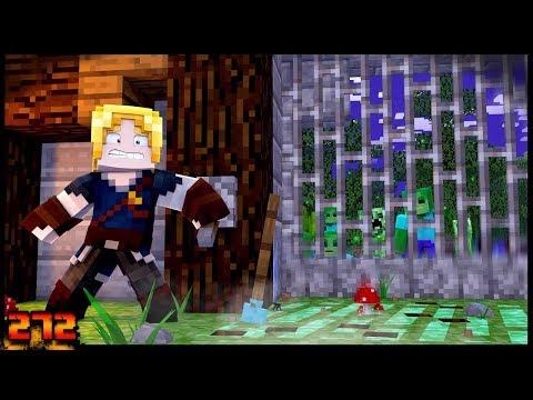 Minecraft: BASE 100% SEGURA CONTRA MONSTROS!!- Forever Mapa #272