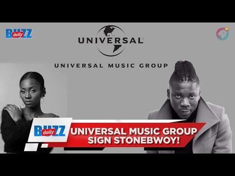 Universal Music Group sign Stonebwoy! | Daily Buzz! | AmeyawTV Mp3