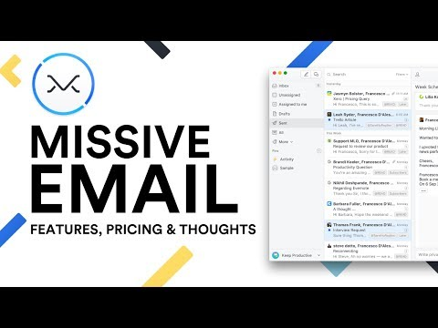 Missive Email: Features, Pricing and Thoughts