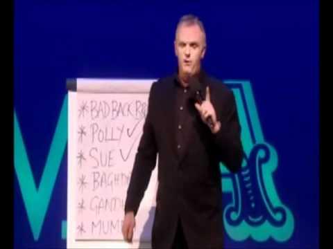 Greg Davies - Nicknames - Royal Variety Performance 2011