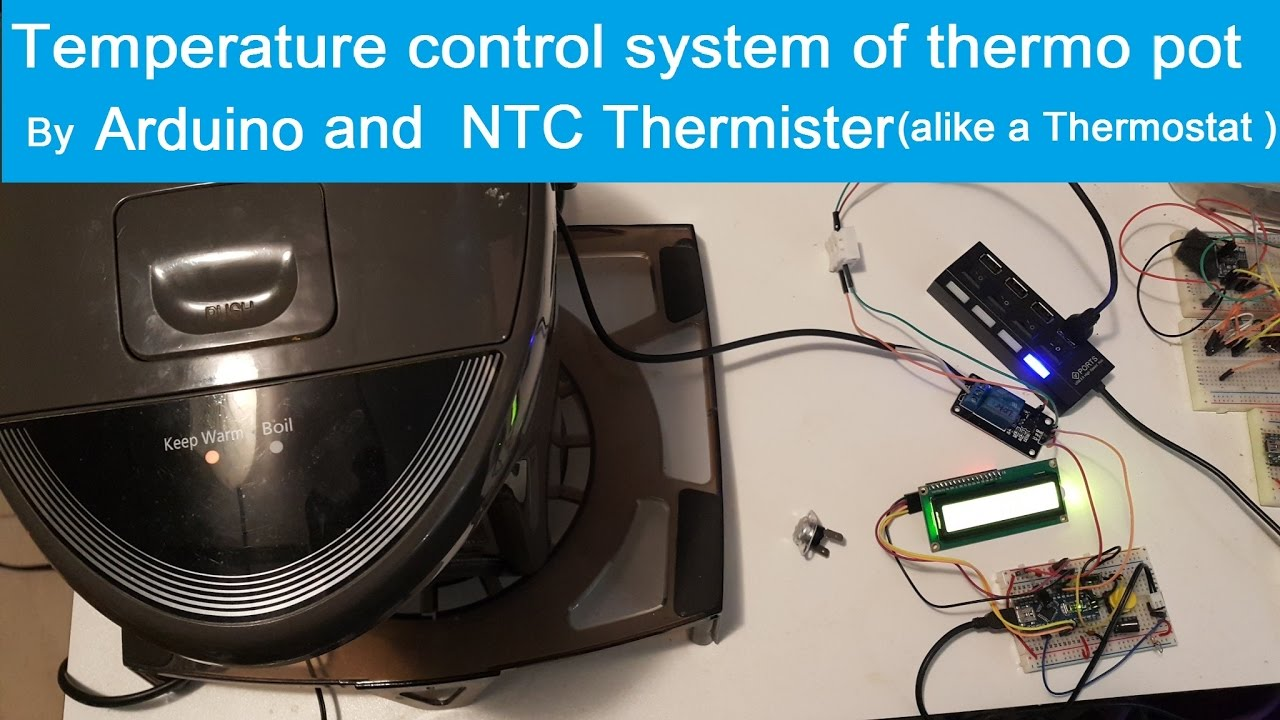 aula 4456 Arduino video Termistor NTC 10k sensor de temperatura .