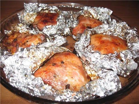 Курица с овощами печеная в углях