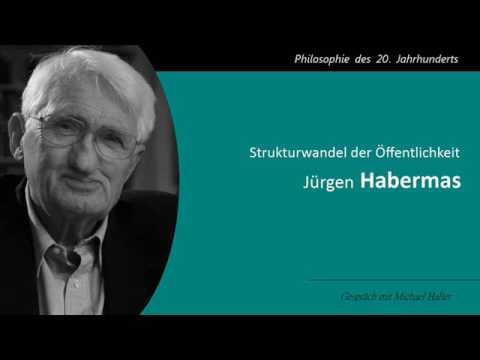 Jürgen Habermas - Strukturwandel der Öffentlichkeit
