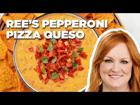 The Pioneer Woman Makes Pepperoni Pizza Queso   Food Network