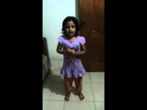 Amader deshta shopnopuri(আমাদের দেশটা স্বপ্নপুরী) - Cute little girl song