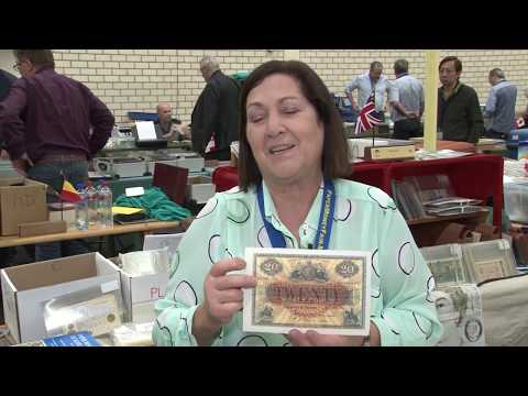 CoinTelevision: COOL SCOTTISH CURRENCY! at Paper Money Fair, Valkenburg. VIDEO: 4:46.