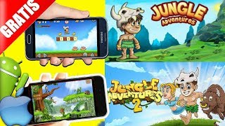 Dica de jogos gratis Jungle Adventure 1e2 android/iphone analise,review,Gameplay Download Free