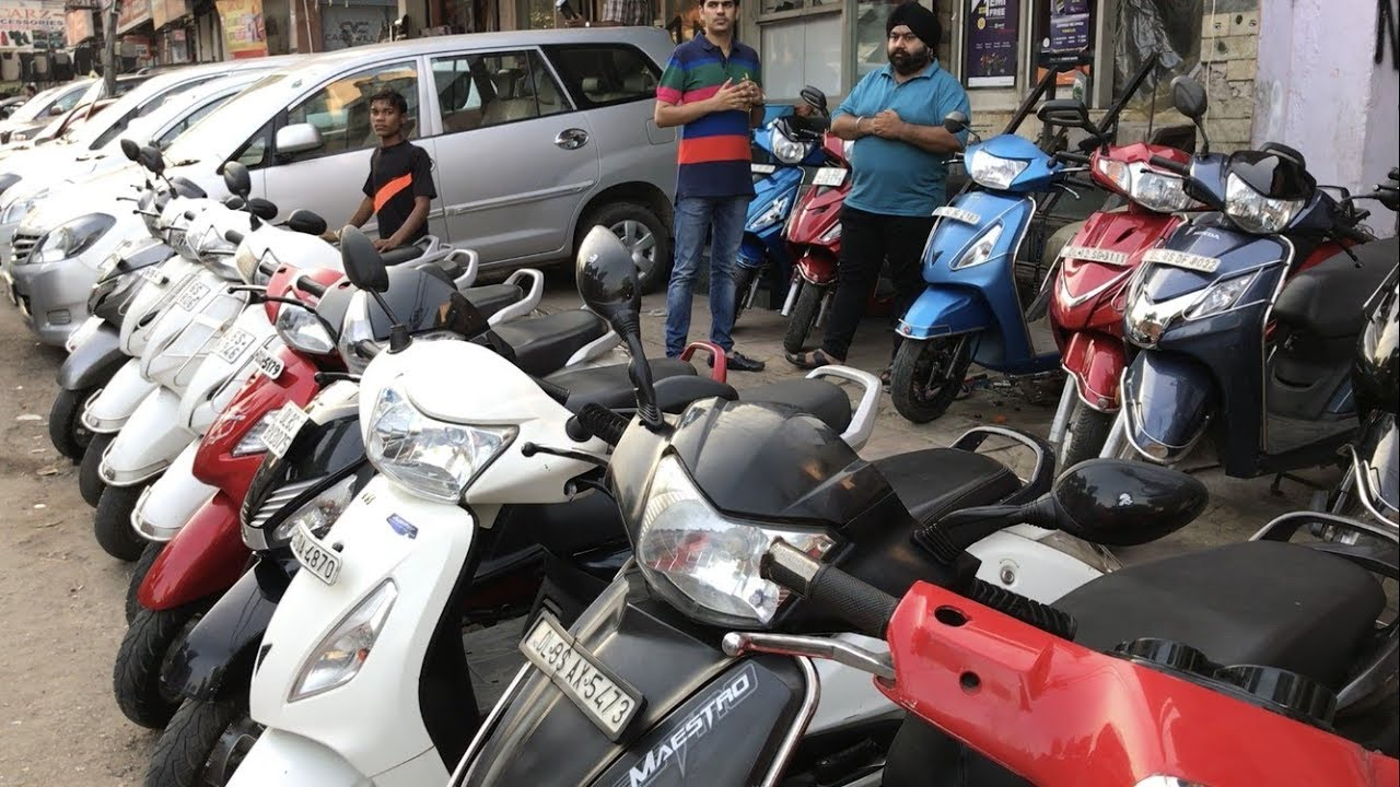 SECOND HAND SCOOTY JUPITER / VESPA / ACTIVA / ACTIVE3G / MAESTRO AND MUCH  MORE   (KAROL BAGH)