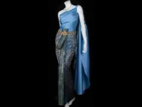 Thai Traditional Dresses Youtube