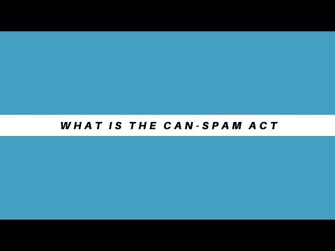 What Is The Can-Spam Act
