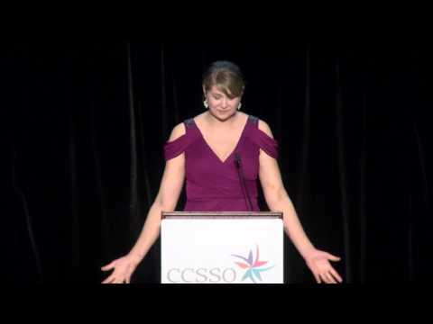 2017 National Teacher of the Year Sydney Chaffee Gala Speech