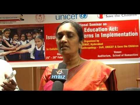 Usha Rani IAS Rajiv Vidya Mission AP