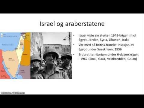 Midtøsten I Nyere Tid - 2/2 - Palestina-konflikten