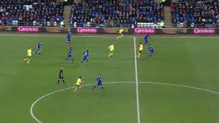 HIGHLIGHTS: CARDIFF CITY 3-1 NORWICH