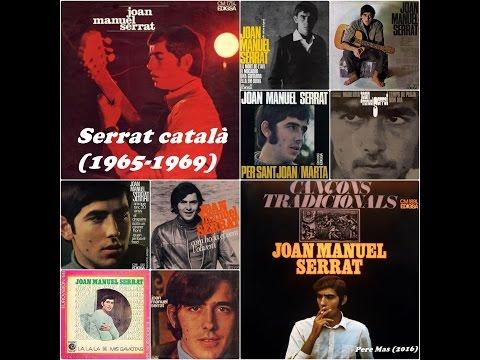 Joan Manuel Serrat en Català de 1965 a 1969 (LP, EP i singles)