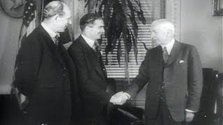 HD Historic Archival Stock Footage WWII - Anthony Eden In U.S. For Talks On Post-War Plans 1943
