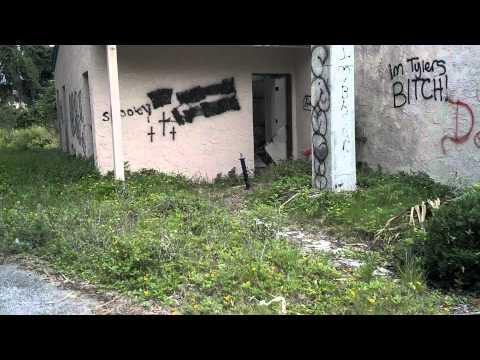 HAUNTED INSANE ASYLUM MERRITT ISLAND UNIVERSAL HEALING CENTER AND CHAPEL IN DAYTIME
