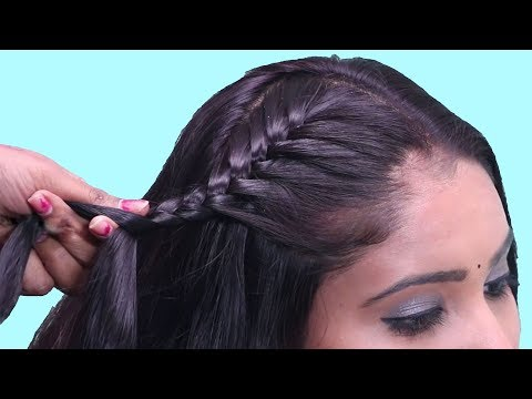 Indian traditional hairstyles for party/function/wedding || hairstyles for long hair girls