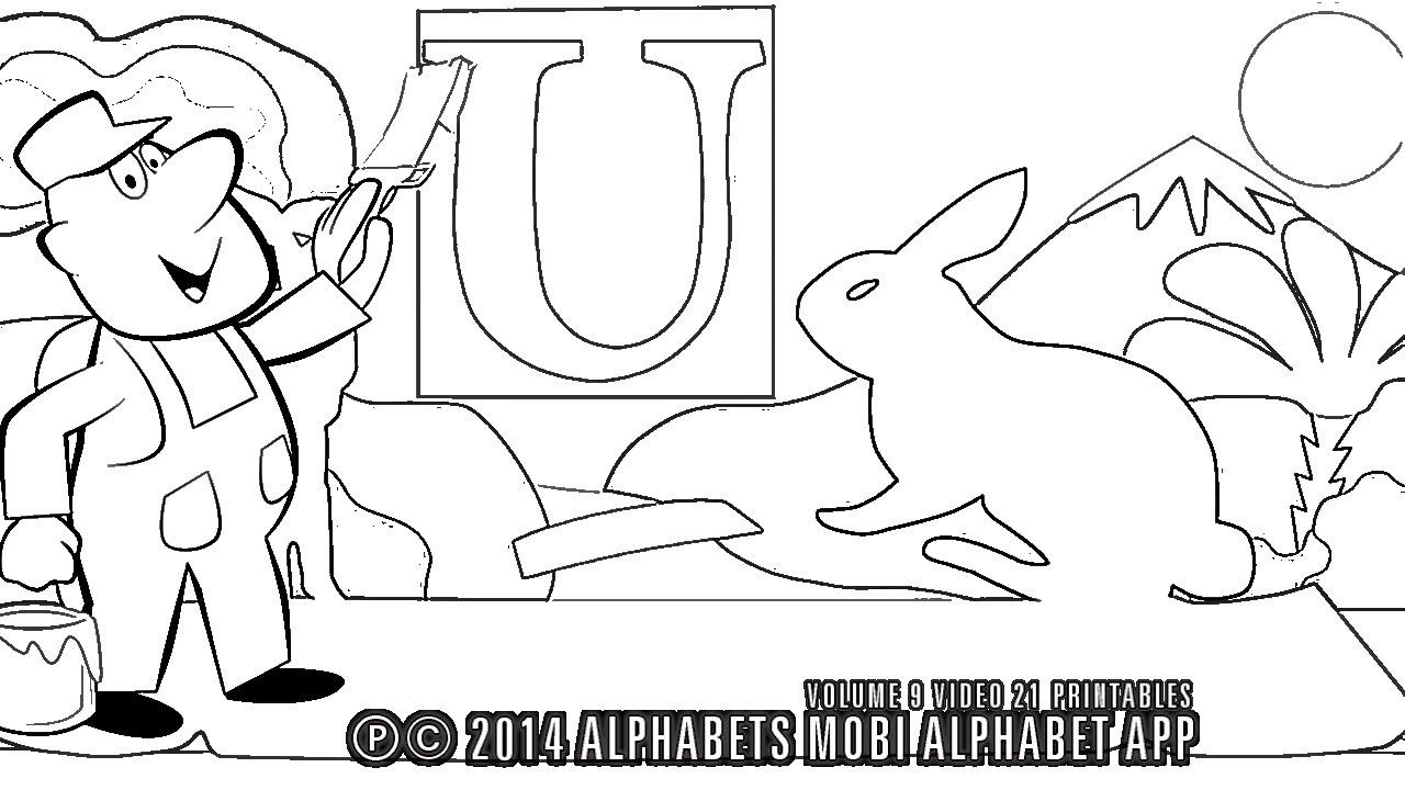 Мультик раскраска азбука - английский песенка для детей и ...