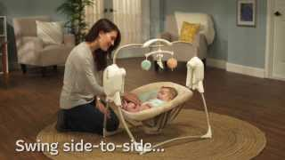 Cradle 'n Swing - Power Plus Space Saver - Demo - Fisher Price