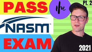 NASM CPT Exam | How To Pass the Test in 2021 | Free NASM Study Guide