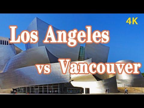温哥华?还是洛杉矶?哪个更适合华人定居?(4K高清)加拿大PK美国移民城市大比拼Vancouver vs Los Angeles