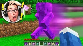 FINDING PURPLE STEVE IN MINECRAFT! (NOT CLICKBAIT)