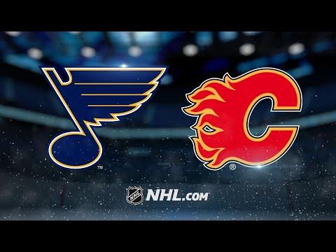 Jankowski, Flames scorch Blues in 7-4 win