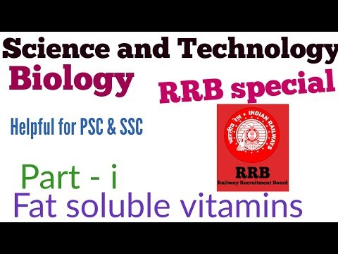 Vitamins and Diseases | Fat soluble vitamins - A, D, E, K | Science # 2