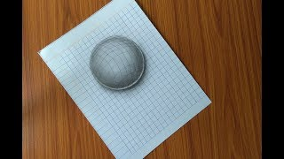 How to draw a 3D Art-  Simple Line paper technique/ Sketch Duniya
