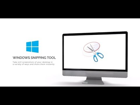Windows Snipping Tool Tutorial
