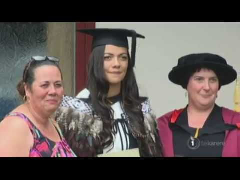 World rugby champion graduates Waikato University