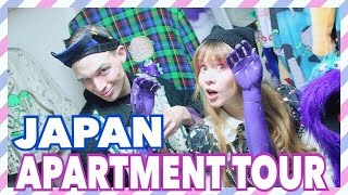 japanese apartment tour small fashion apartment in tokyo japan