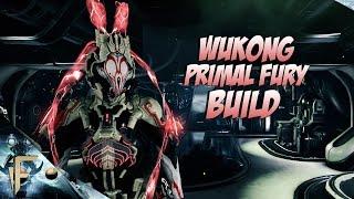 warframe wukong primal fury build