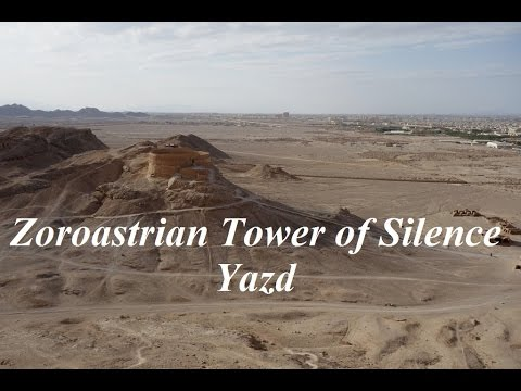 Iran/Zoroastrian ''Tower of Silence'' Yazd Part 50 - YouTube