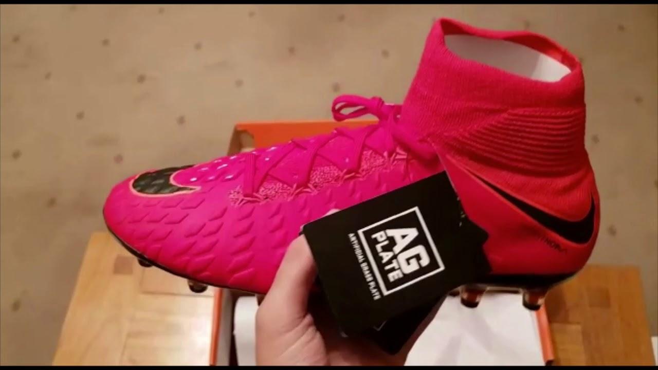 8030d4f73 Nike hypervenom phantom FIRE PACK unboxing!!! - YouTube
