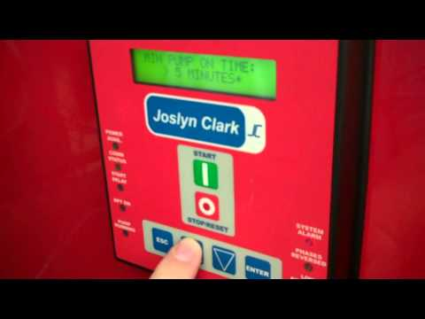 Set up and Testing of a Joslyn Clark Proguard Electric Fire Pump