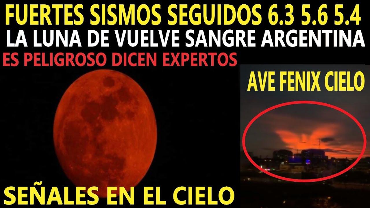 La Luna se Tiñe de Rojo Misteriosamente / Fuerte Sismo 6.3 Puerto Prince Perú 5.6 / Reporte Sísmico