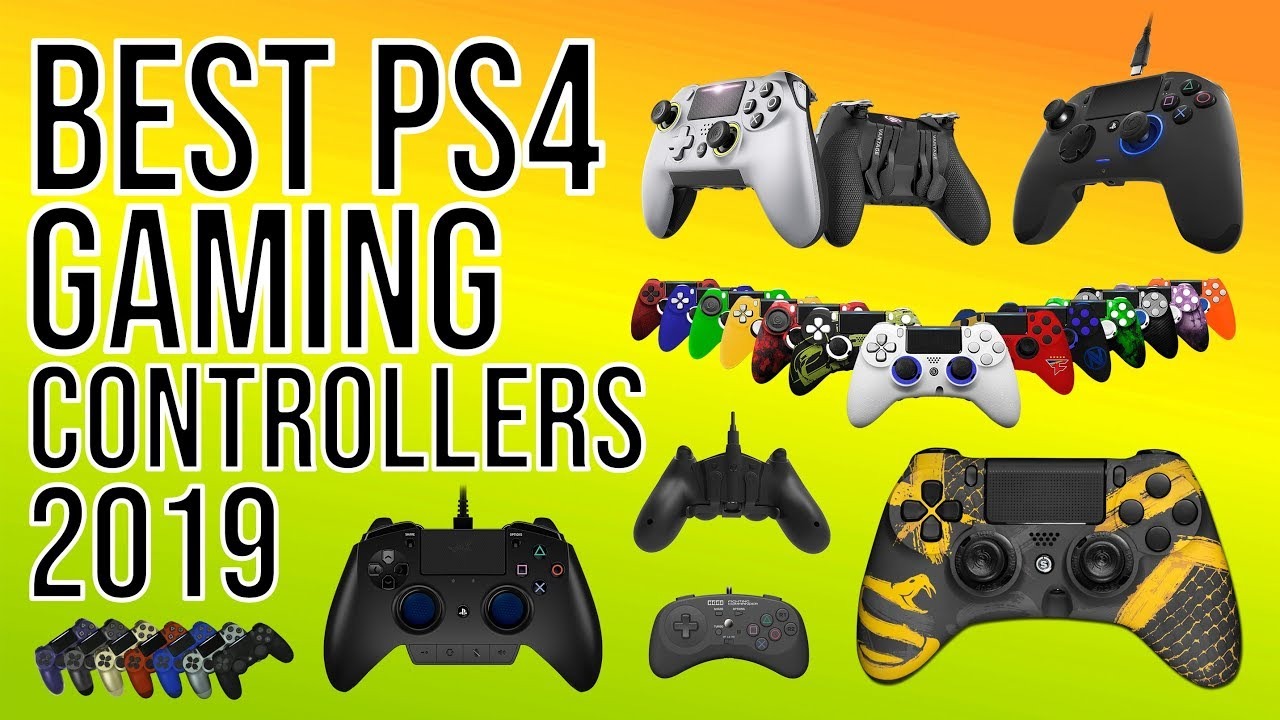 BEST PS4 GAMING CONTROLLER [2019] - TOP 10 BEST PS4 CONTROLLERS of 2019