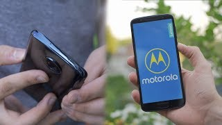 Premium Smartphone für 250€ - Motorola Moto G6 (Review)