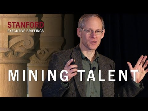 Mining Talent, featuring George Anders