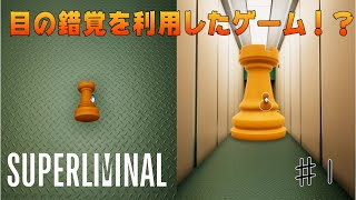 【Superliminal】#1 Optical Illusions: Use Flexible Thinking to Solve the Mystery! 【Guest: Saito Soma】