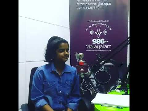 Sandra in 98.6FM Radio in Qatar