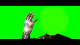 Avengers ENDGAME  Iron Man Snap (Green Screen)  VFX GURU