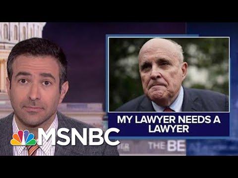 'Bizarre Web': Trump Attorney Giuliani Hunts For Personal Attorney   MSNBC