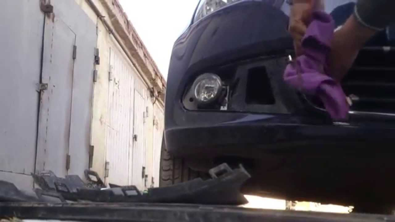 Снятие решетки радиатора на POLO SEDAN